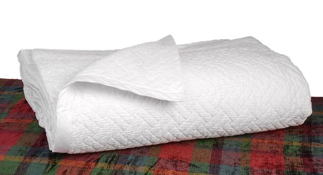 Frette White King Bedspread
