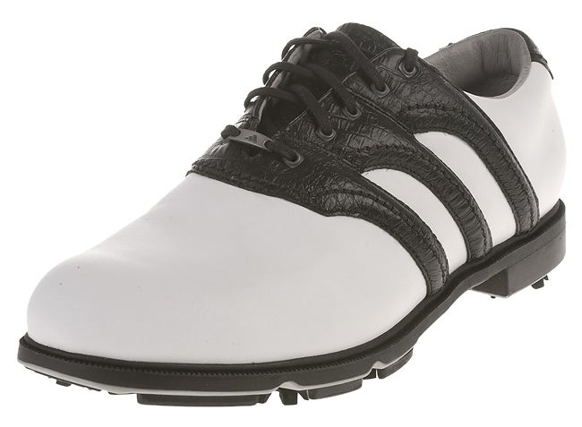 free shipping 8601a 24aa9 Adidas Menx27s Size 11.5 Z-Traxion Stripe Golf Shoes