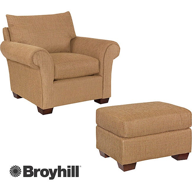 Broyhill Jayden Chair And Ottoman Set Free Shipping