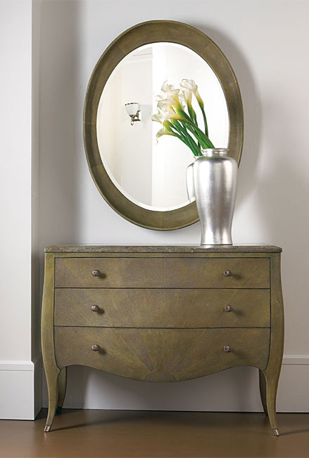Thomasville Bogart Luxe Del Mar Chest And Mirror Set