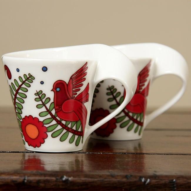 Villeroy & Boch New Wave Caffe Acapulco Espresso Cups (Set