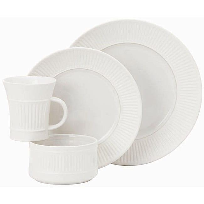 Dansk Flamestone Ivory 16-piece Dinnerware Set