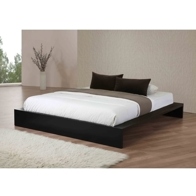 Lander Queen Platform Bed Black Free Shipping Today