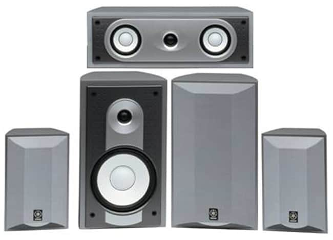 Yamaha NS-AP6500 Voice-matched 5-piece Speaker System (Refurbished)