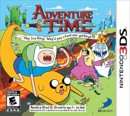 NinDS 3DS - Adventure Time: Hey Ice King! Why'd you steal our garbage?!