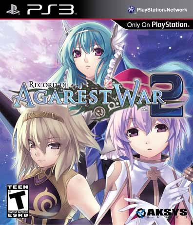 PS3 - Record Of Agarest War 2