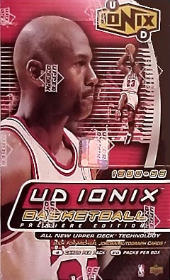 Upper Deck 1998/99 'Ionix' Basketball Box