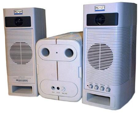Altec Lansing ACS400 Surround Speakers (Refurbished)