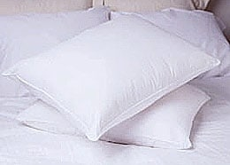 Deluxe Natural Feather Standard-Size Pillow (Case of 10)