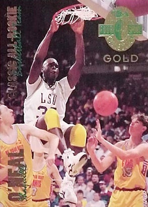 Shaq Oneal 1993 Classic 4 Gold Rookie Card