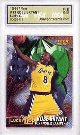 Kobe Bryant #13 Rookie Card (Mint-9)