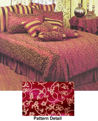 Shop Persian Burgundy Duvet Cover Full Queen Free Shipping Today