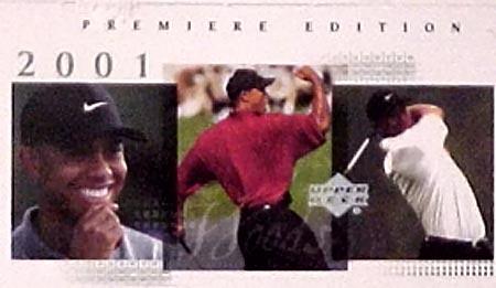 2001 Upper Deck Golf Hobby Box (24 packs)
