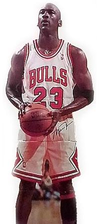 Michael Jordan Life-size Stand-Up