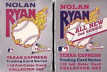 Nolan Ryan 220-card Collector's Set