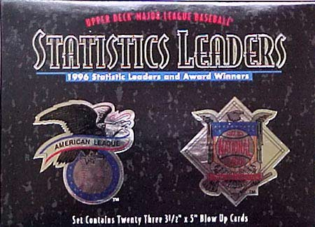 1996 Upper Deck 'Statistic Leaders' Set (23 Cards)