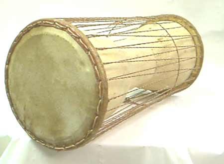 Handmade Dono Talking Drum (Ghana)