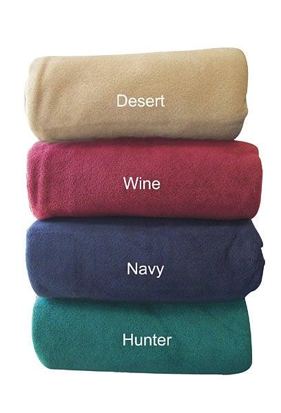 Heavy-Weight Fleece Blanket