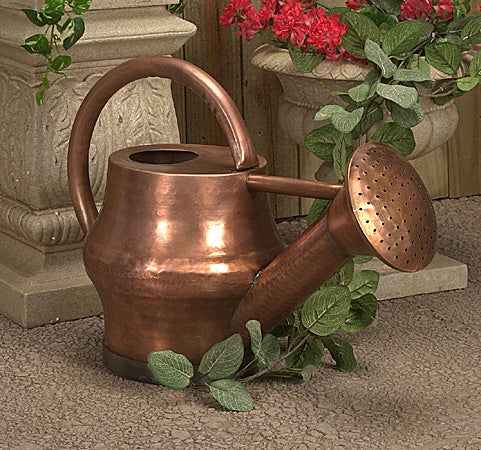 Replica Antique Copper French Watering Can Free Shipping