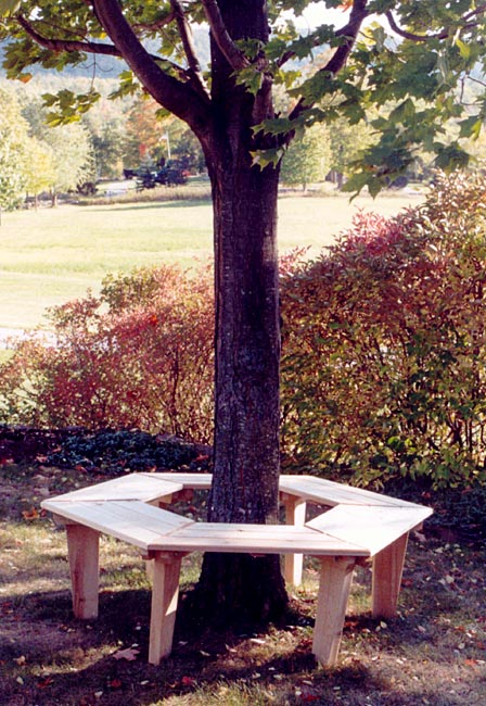 Around The Tree Bench Free Shipping Today Overstock