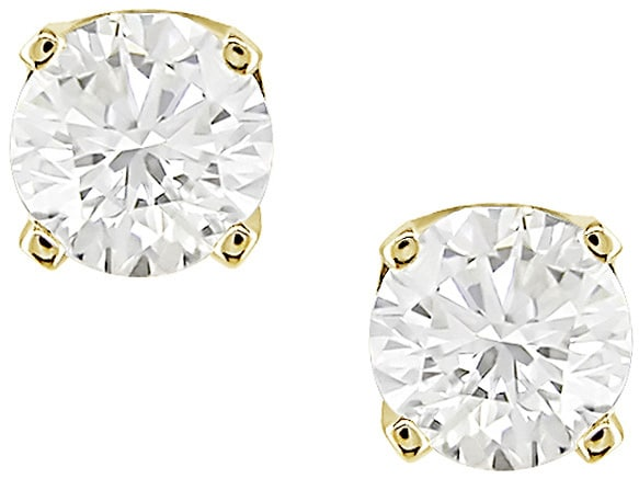 a8cc957bf Shop 14-kt Yellow Gold 1/2-ctG-H, SI-I1) Diamond Stud Earrings (case of 2)  - Free Shipping Today - Overstock - 2090393