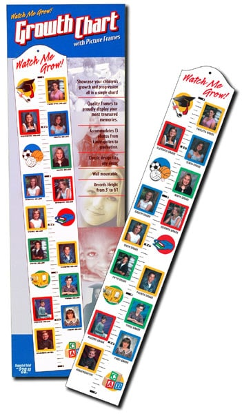 Shop Growth Chart Picture Frame Free Shipping On Orders Over 45