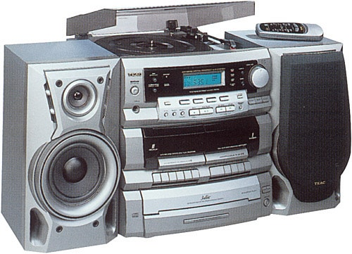 Teac DCD2831 Compact Stereo System with Remote