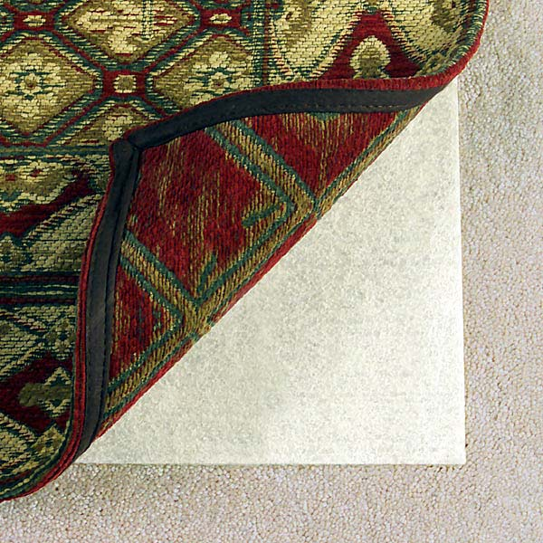 Con-Tact Brand Miracle Hold Non-slip Rug Pad for Carpeted Surfaces (2' x 4') - Off-White - 2' x 4'