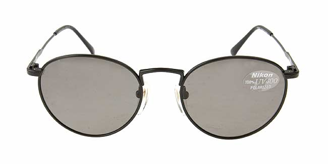 Shop Nikon Black Titanium Polarized Sunglasses - Free Shipping Today ...