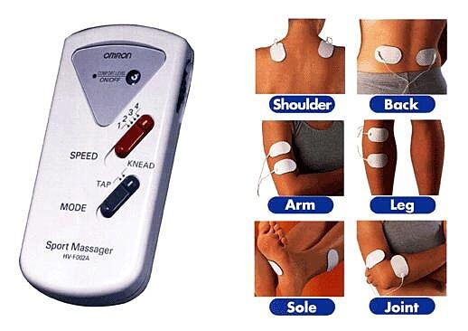 OMRON Body Logic Electronic Sports Massager