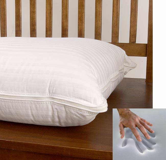 Therapedic Memory Foam Polyester Filled Pillow