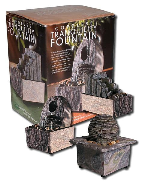 Shop Cordless Tranquility Fountain Free Shipping On