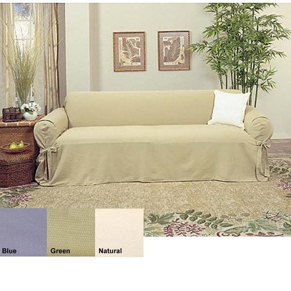 Brushed Canvas Slipcovers (Sofa)