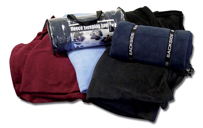 Premium Fleece Sleeping Bags (Set of 2)