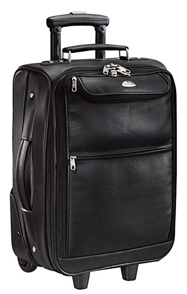 Samsonite Leather Mobile Office Overnight Case Free