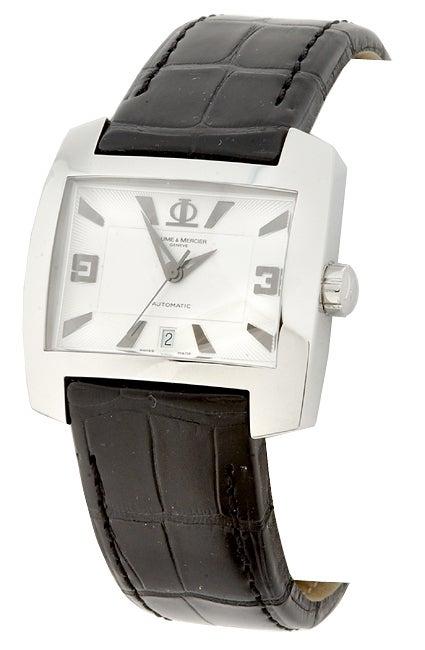 1121e8300 Shop Baume & Mercier Hampton Spirit Automatic Watch - Free Shipping Today -  Overstock - 1843324