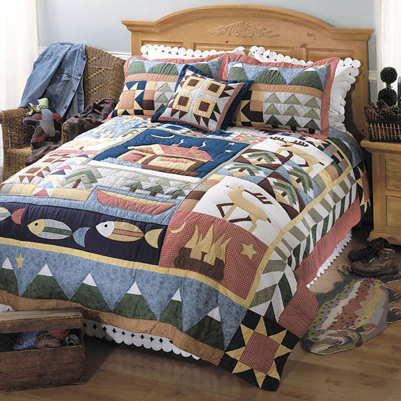 Timberline Lodge Quilt Set - Free Shipping Today - Overstock.com ... : timberline quilt - Adamdwight.com