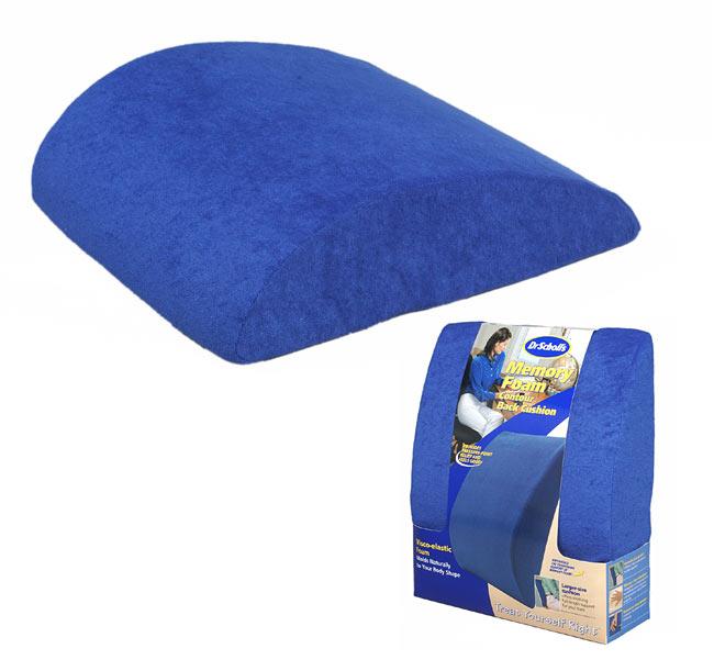 Dr Scholl's Memory Foam Contour Back Cushion