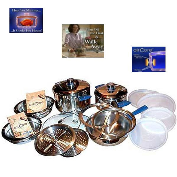 Air Core 20-piece Cookware Set