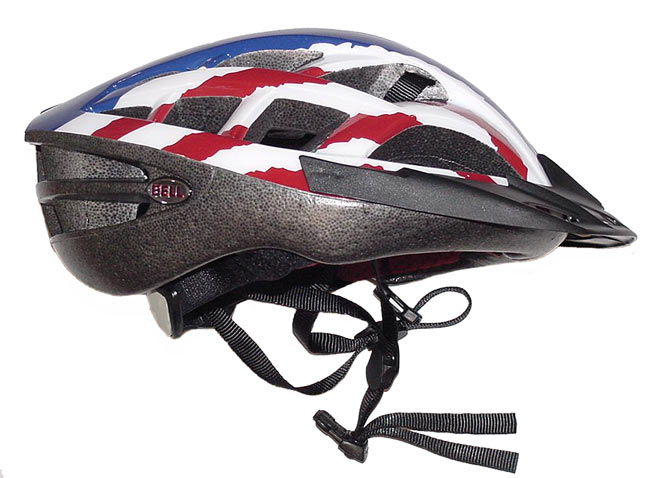 Bell Nemsis 2 Pro Bike Helmet Red/White/Blue (Small)