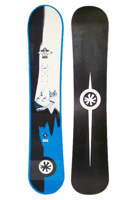Original Sin OS.Z Snowboard 143cm - White/Black