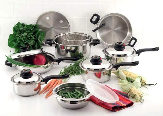 ForeverWare Waterless 15-piece 9-ply Cookware Set