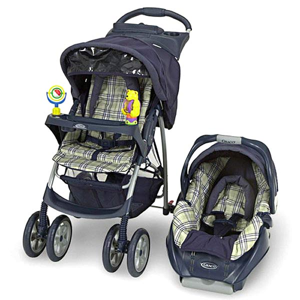 Graco Aspen 4-in-1 LE Stroller & Car Seat