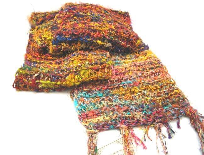 Himalayan Handmade Silk Scarf (India)