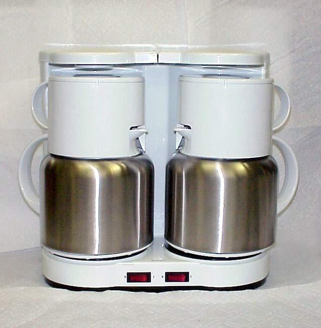 Dual Thermal Coffee Maker : Ginny s Dual Carafe Coffee Maker - Free Shipping Today - Overstock.com - 943423
