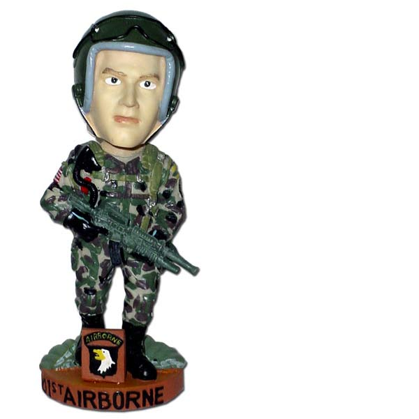 Special Forces 101st Airborne Bobble Head Doll