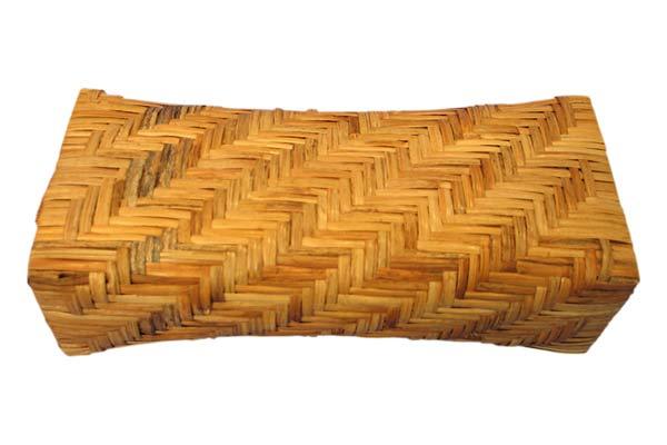 Hand Woven Rattan Head Pillow