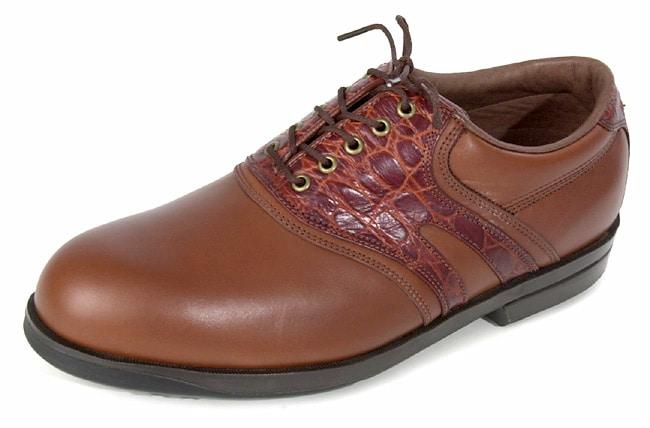 Florsheim Men's Magneforce Brown Saddle Golf Shoes