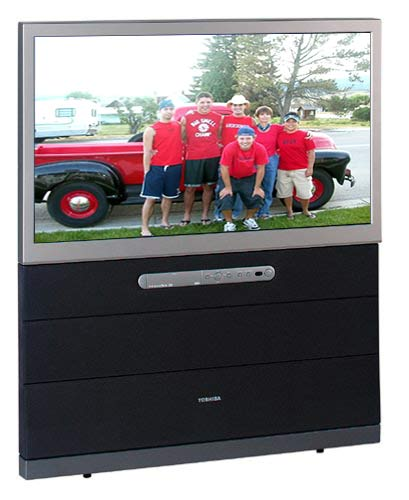 shop toshiba 42h83 42 inch theaterwide hd ready projection tv rh overstock com Toshiba Projection TV Toshiba Projection TV