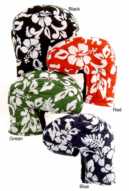 Mallet Putter Cover with Hawaiian Print 3 Pack